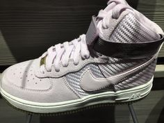 hot sale online e2685 63fd8 Nike Wmns Air Force 1 High Premium Bleached Lilac Women Sizes