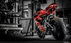 Ducati Panigale the Superquadro engine will give you 205 reasons and 145 other reasons to hold on tight. Could it be the greatest design we've seen yet? Ducati Motorbike, Moto Ducati, Moto Bike, Motorcycle Bike, Ducati 1299 Panigale, Gp Moto, Custom Sport Bikes, Bike Photography, Super Bikes