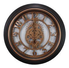 """Kiera Grace Gears 20"""" Wall Clock"""