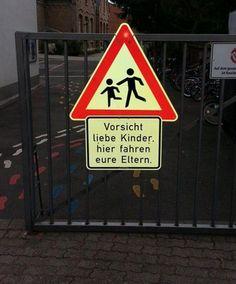 Okay, die Message kam an. | 19 Schilder, die beweisen, wie witzig Deutschland ist