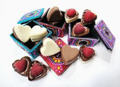 Worth Pinning: Godiva and Nutella Chocolate Hearts...now with raspberries
