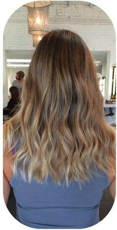 bronde hair color