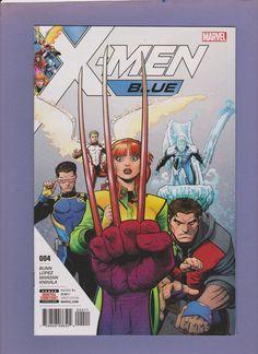 X-Men Blue #4 (Marvel,2017) NM/M Jimmy Hudson!! New!! Marauders!