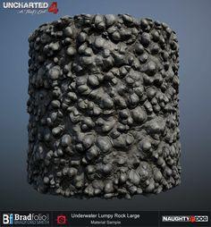 ArtStation - Uncharted 4   Dive   Terrain Materials, Bradford Smith