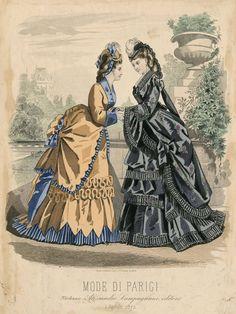 Mode di Parigi 1872