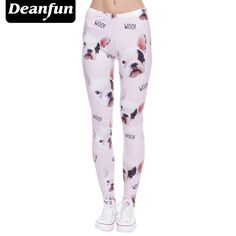688c313118ed0a Deanfun Women Leggings Plus Size 3D Printed Female Legging Winter New  Fashion Pants Security Knitted Ankle-Length K55