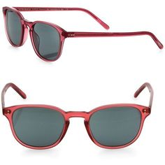 Oliver Peoples Fairmont Sun 49MM Square Sunglasses (1.385 BRL) ❤ liked on Polyvore featuring accessories, eyewear, sunglasses, apparel & accessories, red, square sunglasses, uv protection sunglasses, red lens glasses, oliver peoples sunglasses and oliver peoples