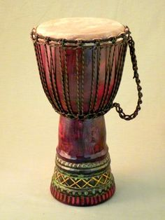 African djembe drum...total anger management...lol