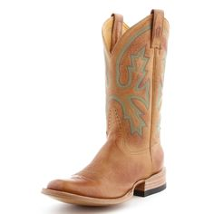 BootDaddy Collection with Rod Patrick Burnished Tan Cowboy Boots