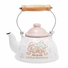 Sanrio Japan Little Twin Stars Kitchen Enamel kettle