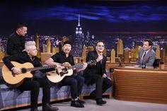 U2 Postpone 'Jimmy Fallon' Residency Following Bono Injury - ROLLINGSTONE #U2, #Bono, #JimmyFallon
