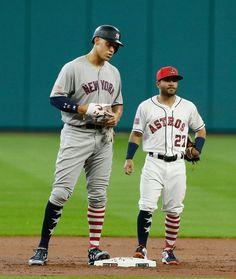 Aaron Judge is Much Taller Than Jose Altuve