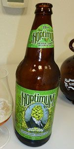 Sierra Nevada - Hoptimum.  What a crazy, resinous beer.  At just under 11% ABV, this one is full of flavor with out the being alcohol forward, and plenty hops for the most discerning hop head out there.  Definitely pick up one of these if you can!