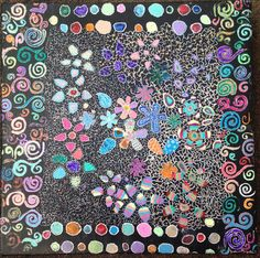 Check out this entry in Blick in Bloom Art Contest!!