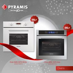 Pyramis ovens! A wide range of designs & functions will cover your every need in the kitchen! Kitchen Sink, Kitchen Appliances, Oven And Hob, Cooker Hoods, Electrical Appliances, Quality Kitchens, Ovens, Range, Design