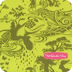 Prince Charming / Olive / Turtle Bay / Tula Pink / Free Spirit Fabrics