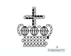 王冠のミニモチーフの作り方 編み物 編み物・手芸・ソーイング ハンドメイドカテゴリ アトリエ