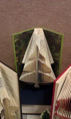 Plié livre d'Art « Arbre » - réalisé sur commande