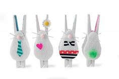 Bunny clothespins  Easter Crafts for Kids - Fun Easter Crafts - Parenting.com