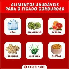 Alimentos saudáveis para o fígado gorduroso!