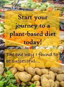 Here's how I started my journey to a plant-based lifestyle..You can do it too! #vegan #healthy #motivation scientistatheart.com