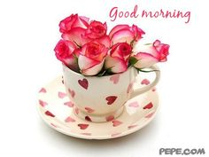 good morning greetings from the heart . . .