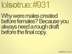 ... so true