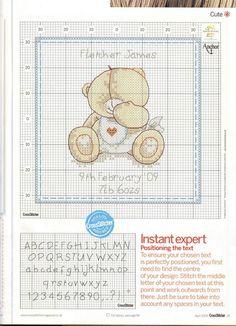 Os miminhos das Amigas: ursinho bebe