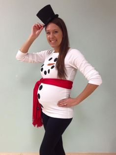 maternity halloween costume diy - Maternity Christmas Sweater