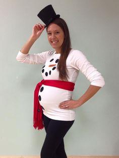 Maternity Halloween Costume DIY
