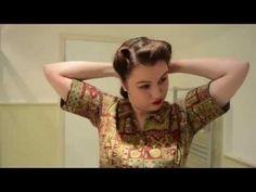 Swirly-Twirly Victory Rolls - YouTube