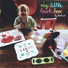 Rocío Galano ha compartido con nosotros esta maravillosa foto, con muchas de las actividades de #mylittlebookbox.