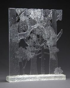 Boxed Forest - Glass Artist: State of Grace