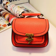 Find More Shoulder Bags Information about Designer New Women's shoulder bags High Quality messenger Orange bags Women Vintage handbags bolsas femininas 4 Colors Mini Bag,High Quality bag,China bag office Suppliers, Cheap bag boy bag from LOVE FANG on Aliexpress.com