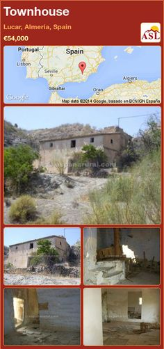 Townhouse for Sale in Lucar, Almeria, Spain - A Spanish Life Water Sources, Old Building, Townhouse, Beautiful Homes, Spanish, Country, Life, House Of Beauty, Fuentes De Agua
