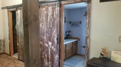Barn doors and barn wood trim