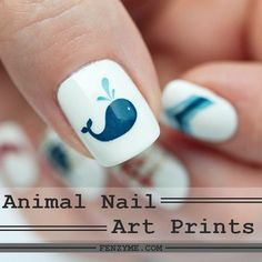 45 Cute Animal Nail Art Prints that're truly Inspirational