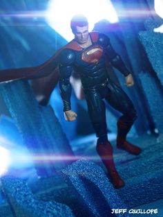Toy Photography Addict: Man of Steel (Movie Masters)