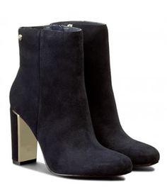 Botine Cu Toc Patrat Elegante Tommy Hilfiger Tommy Hilfiger, Mai, Heeled Boots, Booty, Ankle, Heels, Fashion, High Heeled Boots, Heel