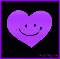 Graphic Purple Smile Heart Glitter Graphic, Greeting, Comment, Meme or GIF Purple Love, Purple Lilac, All Things Purple, Shades Of Purple, Purple And Black, Pink, Purple Hearts, Purple Stuff, Glitter Hearts