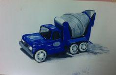 Tonka Cement Truck for Hunters room. Tonka Trucks, Tonka Toys, Hunters, Cement, Room, Design, Bedroom, Rooms, Rum
