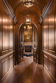 Matt Kocourek Photography- Specializing in Architectural, Food, Commercial and Portrait Photography Home Library Design, Home Office Design, Home Interior Design, Interior Architecture, House Design, Traditional Home Offices, Traditional House, Craftsman House Plans, Modern House Plans