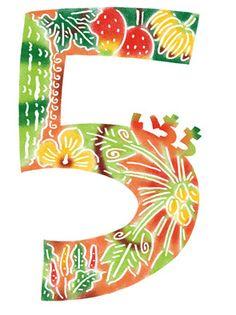 紅型体験 特別編 絵柄4(数字) | コジーサの画帖 Japanese Things, Yayoi, Super Moon, Japanese Patterns, Okinawa, Alphabet, Numbers, Arts And Crafts, Textiles