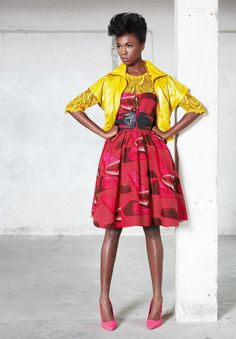 La robe en WAX   Le journal de Gazelle
