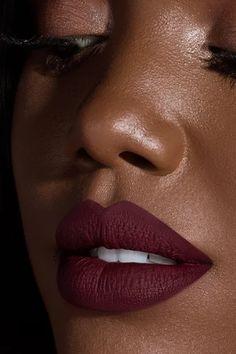 Ellarie x ColourPop - Sessy deep red wine Ultra Matte liquid lipstick Wine Lipstick, Best Liquid Lipstick, Lipstick For Dark Skin, Dark Skin Makeup, Best Lipsticks, Lipstick Shades, Lipstick Colors, Lip Makeup, Lip Colors