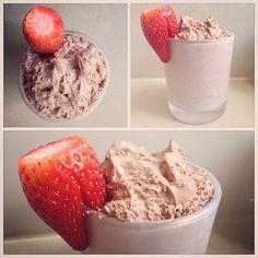 Vegan coconut cream chocolate mousse in a repurposed medium candle jar! #vegan #candle #recycle #reuse #repurpose #chocolate #love #foodporn