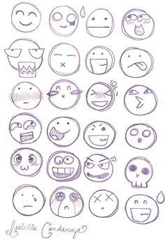 Chibi Facial Expressions by PinkTeen7.deviantart.com on @deviantART: