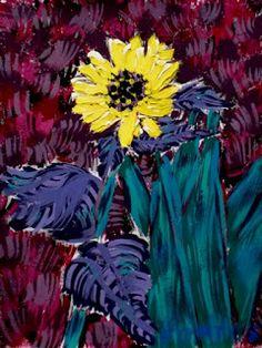Arte Moderna & Contemporânea: Girassol V