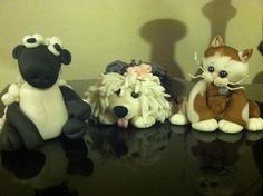 Edible Personalized  Cake Toppers of Your Pet by SweetPrincesses2