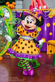 Not So Scary Halloween Minnie